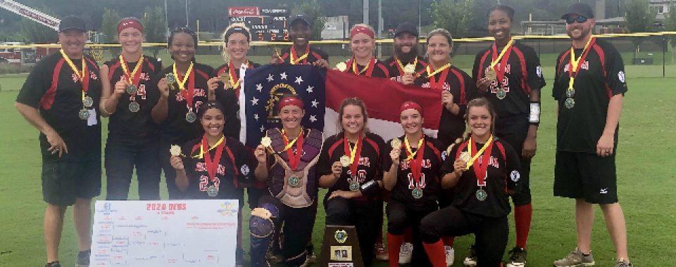2020 Dixie Softball 19U World Series Champions